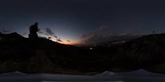 R0011578 (full.moon.for.the.fool.man) Tags: 360 2018 xmass chania thetasc theta ricoh crete greece χανιά κρήτη ελλάδα ηλιοβασίλεμα sunset