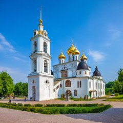 Assumption Cathedral (Dmitrov, Russia) (KonstEv) Tags: dmitrov russia cathedral church orthodox cross dome architecture belfry tower building