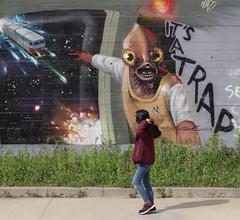 Trap generation... (giuselogra) Tags: streetart streetphoto streetlife streetphotography street strada streetphotographer parcodora park trap murales graffiti writers torino turin piedmont piemonte italy italia streetmusic