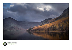 slp18-7812.jpg (andypage7) Tags: threatening autumn england calm lakedistrict foreboding buttermere cumbria autumnal plantation woodland ominous mountains larch clouds lake unitedkingdom cloudy cloudysky ridge reflection landscape fleetwithpike uk dramatic