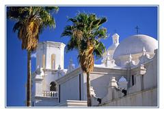 Mission San Xavier del Bac - Tucson, Arizona, 1998 (sjb4photos) Tags: arizona tucson missionsanxavierdelbac cathedral