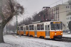 ❄️Winter in B U D A P E S T🇭🇺 (Richard Woodhead) Tags: winter snow outdoors tatra budapest bkv tram