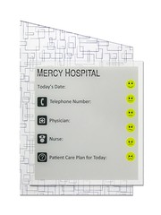 InfoBoard (2/90 Sign Systems) Tags: 290 sign signs signage systems wayfinding facility modular 290signsolutions info board dry erase hospital patient l3 diagonal backer acrylic pattern