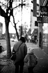 polar bear on market street (doublecappuccino) Tags: c planetolive marketstreet sf leicam3 noctilux noctilux50mmf095 trix kodaktrix400