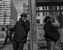 15th Street, 2019 (Alan Barr) Tags: philadelphia 2018 15thstreet street sp streetphotography streetphoto blackandwhite bw blackwhite mono monochrome candid city people ricoh gr