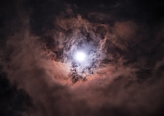 Demons (Manos Tzavaras) Tags: moon astrophotography astronomy clouds