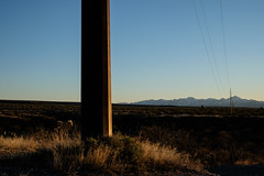 Tumacácori Mountains, Arizona (James S Patterson) Tags: mountains desert power utilitypole