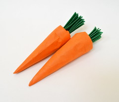 Carrots (Ponadr) Tags: origami paper fold paperfolding design food carrot vegetable sculpture art