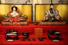 Hina dolls (Teruhide Tomori) Tags: japan japon kyoto tradition culture 日本 京都 伝統 文化 雛人形 雛飾り antique doll toy hinadoll