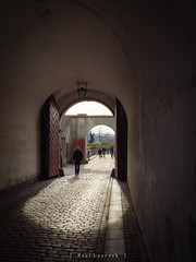 Entering the Kastellet (amipal) Tags: 175mm capital city copenhagen denmark europe holiday kastellet manuallens travel urban voigtlander