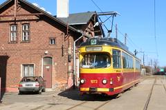 2019-03-02, Lódz, Zajezdnia Musealna Brus (Fototak) Tags: tram strassenbahn gt6 düwag lódz poland ligne43a 1072
