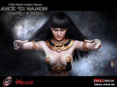 PHICEN PL2018-129 Anck Su Namun Princess of Egypt - 01 (Lord Dragon 龍王爺) Tags: 16scale 12inscale onesixthscale actionfigure doll hot toys phicen tbleague seamless