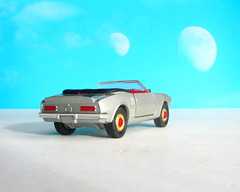 Corgi Toys No. 343 Pontiac Firebird 1969 With Red Spot Wheels : Diorama Futuristic Double Moon - 3 Of 13 (Kelvin64) Tags: corgi toys no 343 pontiac firebird 1969 with red spot wheels diorama futuristic double moon