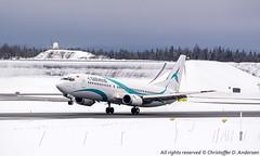 TC-TLC (2) (Christoffer Andersen) Tags: tailwind b737 b737400 b737classic osl osloairportgardermoen gardermoen passengerplane airplane planespotting aircraft