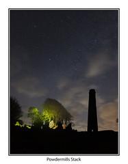 Powdermills07 (mdsphotoimages1) Tags: stars sky clouds color stacks ruins
