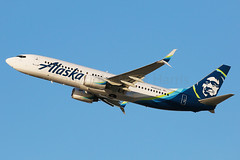 Alaska Airlines Boeing 737-890 N583AS (Mark Harris photography) Tags: spotting lax la canon 5d aviation plane