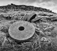 Beneath Stanage Edge, Derbyshire (John J Buckley) Tags: nationalparl winter peakdistrict derbyshire gritstonelandscape millstones moors stanageedge rocks