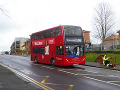 SLN 19862 - LX12CZR - WATLING STREET BEXLEYHEATH - THUR 14TH MAR 2019 (Bexleybus) Tags: bexleyheath kent da7 watling street stagecoach london selkent tfl route 96 adl dennis enviro 400 19862 lx12czr