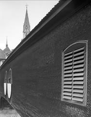 Holzbrücke Baden (photogunni) Tags: chamonix 4x5 largeformat grossformat kodak tmax100 rodinal baden