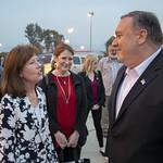 Secretary Pompeo Prepares to Depart Beirut thumbnail