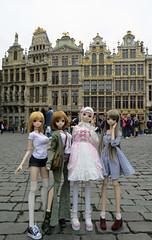 Smart Dolls in Brussels (els82) Tags: smartdoll smartdollmirai kurenai kizuna felicity