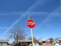 stop (lasjuly) Tags: jet contrails stop sky