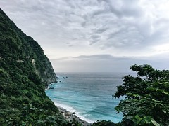 Hualien -D1 #sea #mountain #cliff #blue #sky #taiwan #travel (yo10rk31) Tags: sea mountain cliff blue sky taiwan travel