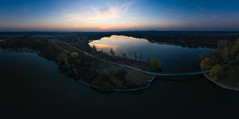 Hullerner Stausee (Pascal Riemann) Tags: hullernerstausee abendstimmung deutschland landschaft see drohne stimmung gewässer panorama architektur natur brücke architecture bridge germany lake landscape nature outdoor drone eveningmood mood waters halternamsee nordrheinwestfalen de