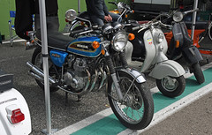 Honda CB 500 Four (baffalie) Tags: moto ancienne vintage classic old bike motorbike expo retro italia sport motocycle racing motor show collection club course race circuit italie bologna compétition