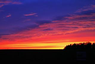 Fayetville Sunset