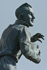 Humility In His Heart (Feversham Media) Tags: barrowinfurness chriskelly cumbria williehorne barrow rugbyleague sculpture