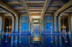 There is a role and function for beauty in our time… (ferpectshotz) Tags: romanpool hearstcastle sansimeon architecture blue indoor pool california bigsur centralcoast westcoast