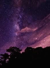 Purple milky way (wujuanca) Tags: longexposuresshot longexposure largaexposición astrophotography astrofotografía milkyway vialáctea colombia nikond5100 nightshot night
