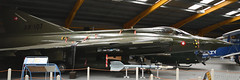 SAAB Draken (AR-107) (Bri_J) Tags: newarkairmuseum newarkontrent nottinghamshire uk nam museum airmuseum aviationmuseum nikon d7500 aircraft saabdraken ar107 saab draken jet fighter danishairforce panorama