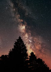 Shadows (Thomas P. Photography) Tags: space night nightsky astrophotography astronomy nikond7000 milky way galaxy stars deepskystacker photoshop sky deepsky shadow france