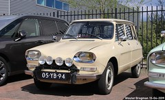 Citroën Ami 8 Break 1977 (XBXG) Tags: 05yb94 citroën ami 8 break 1977 citroënami8 citroënami ami8 stationcar stationwagen station wagon kombi estate beige voorjaarsrit 2019 amiverenigingnederland avn garage vanoord landzigt leidsche rijn utrecht nederland holland netherlands paysbas vintage old classic french car auto automobile voiture ancienne française france frankrijk vehicle outdoor