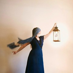 Dressember Challenge Day 27 (hopelightimages) Tags: light hopelight butterfly girl woman dress bluedress blind blindfold hope conceptual