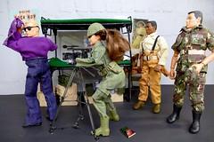 Art - Life in the Barracks (MayorPaprika) Tags: 112 toy story paprihaven action figure diorama set custom 16 doll gijoe barbie hasbro mattel