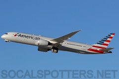 N823AN (SoCalSpotters) Tags: n823an aal klax socalspotters losangeles b789 boeing787 americanairlines