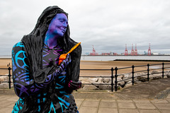 Merseyside Mermaid (The Crewe Chronicler) Tags: mermaid newbrighton wirral thewirral mersey merseyside rivermersey liverpool2 canon canon7dmarkii