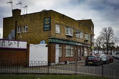 Bank of Swans, Clapham (London Less Travelled) Tags: uk unitedkingdom britain england london city urban street suburban suburb suburbia southlondon lambeth pub closed clapham balham swans