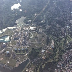 PT Badak Aerial (consigliere ivan) Tags: aerial bontang borneo indonesia kalimantan