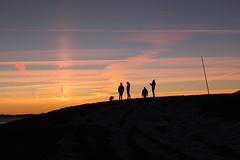 silhouettes et coucher de soleil (Joëlle Galley) Tags: montagne panorama alpes merdenuages coucherdesoleil hautesavoie semnoz