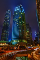 Night In Hong Kong (hiroshiken) Tags: hongkong hk night nightview lights buildings skyscrapers