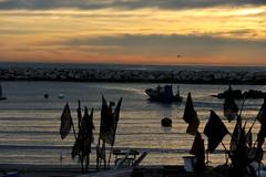 il duro lavoro (maurizio.s.) Tags: sunshine outside sea job landscape seascape martinsicuro abruzzo morning sky clouds coast flickr nikon sun light boat boats