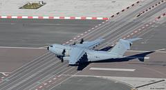 Royal Air Force Airbus Military A400M ZM415 departing RAF Gibraltar/LXGB (Mosh70) Tags: gibraltar rafgibraltar raf rafbrizenorton royalairforce airbusmilitary a400matlas a400matlasc1 zm411 zm415 70sqn 24sqn xxivsqn