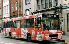 Bus Eireann DA10 (93C2510). (Fred Dean Jnr) Tags: buseireannroute214 cork daf sb220 alexander stpatricksstreetcork setanta september1998 alloverad heinztomatoketchup buseireann