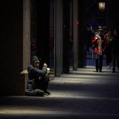 Glasgow (burnsmeisterj) Tags: olympus omd em10 glasgow scotland homeless street poverty