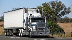 Newell @ Parkes (6/6) (Jungle Jack Movements (ferroequinologist)) Tags: freightliner western star quicks armestos beerwah wattle flat ipec toll hp horsepower big rig haul haulage freight cabover trucker drive transport carry delivery bulk lorry hgv wagon road highway nose semi trailer deliver cargo interstate articulated vehicle load freighter ship move roll motor engine power teamster truck tractor prime mover diesel injected driver cab cabin loud rumble beast wheel exhaust double b grunt kenworth newell parkes