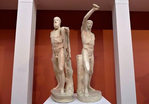 Grupo de los tiranicidas: Aristogitón y Harmodio - Museo Estatal de Bellas Artes Pushkin - Moscú - Rusia